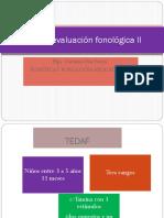 Test de evaluación fonológica