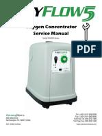 Precision EasyFlow 5 Concentrator - Service Manual