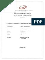 deontologia forense