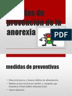 Medidas de Prevención de La Anorexia