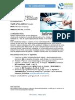Indicaciones Curso Online Excel Avanzado Aplicado a Finanzas