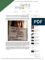 Una Respuesta a Las Críticas Neomachistas y Sus Nuevos Ataques Al Feminismo _ Contratiempo