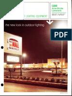 Sylvania GBB Acre-Of-Lite Series Brochure 10-70