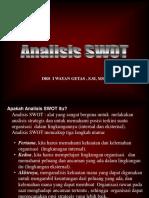 Analisis Swot Smester IV