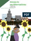 Collaborative for Community Wellness Mental Health Report Executive Summary