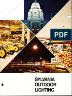 Sylvania Lighting Equipment Outdoor Lighting Catalog 1975