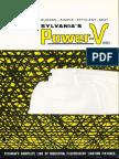 Sylvania Power-V Fluorescent Series Brochure 1962