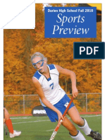 Darien High School Sports Preview Fall 2010
