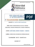 Tarea - Turismo y Oaxaca