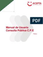 Manual Consult a Public A