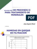 Diseño Procesos - II Incluye Pre Concentracion Gravimetrica