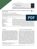 Huella de Carbono en Certificación de Alimentos Marinos
