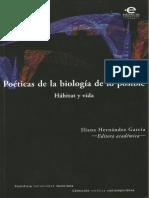 Poéticas de La Biología de Lo Posible-hábitat y Vida