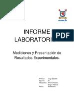 Informe I Laboratorio Física