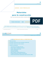 Informe Sectorial Materiales de Construccion 0