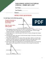Optics 2017 c Huntley Test