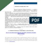 Fisco e Diritto - Corte Di Cassazione n 5756 2010