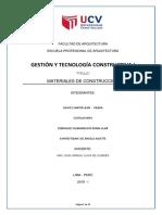GESTION Y TECNOLOGIA CONSTRUCTIVA