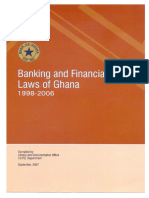 Banking and Financial Laws of Ghana 1998 - 2006
