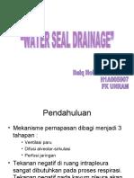 Water Seal Drainage_holis