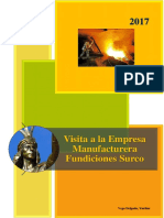 Empresas Manufacturera Fundiciones Surco-VISITA