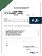 Bank Detail Kn Sl1m Green Batch 7