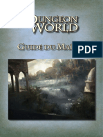 Dungeon World - Guide du Maitre