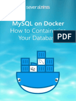 Mysql on Docker How to Containerize Your Database