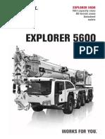 Terex Explorer 5600