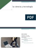 Mujeres en La Ciencia y Tecnología
