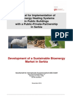 Manual for Bioenergy Heating in Public Buildings in Serbia