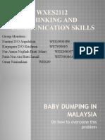 baby dumping essay stpm