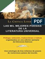 Las Mil Mejores Poesias de La Literatura Universal