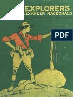 The Lost Explorers by Alexander MacDonald