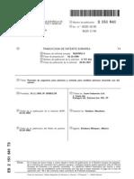pistones patente