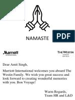 NamasteAssociateCard!