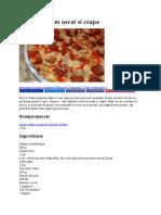 Pizza Cu Salam Uscat Si Ceapa