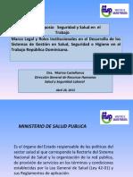 PRESENTACION MINISTERIO DE SALUD