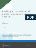 Las FAL y La Construcción Del Partido Revucionario en Los Años '70