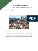Gempa Bantul Di Yogyakarta