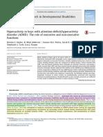 Research in Developmental Disabilities Volume 45-46 Issue 2015 [Doi 10.1016%2Fj.ridd.2015.07.012] Hudec, Kristen L.; Alderson, R. Matt; Patros, Connor H.G.; Lea, -- Hyperactivity in Boys With Attentio