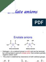13 enolate anion