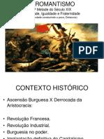 Revisão Romantismo Arcadismo Barroco