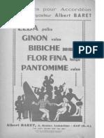 1-Albert Baret - Recueil 5 Succès pour Accordéon.pdf