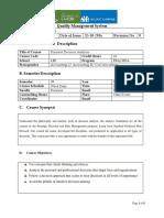 BDA Course Outline