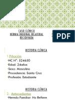 Caso Clínico - Hernia