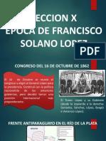 Epoca de Francisco Solano Lopez