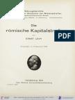 Levy, Die Römische Kapitalstrafe (1931)
