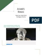 aristotles rhetoric