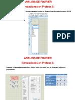 Analisis de FOURIER en Proteus
